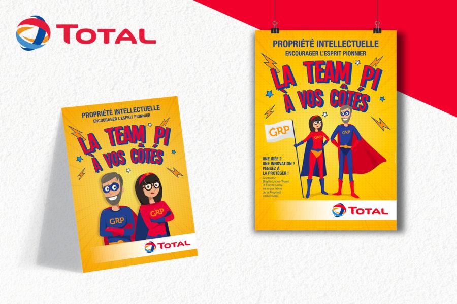 Total / Campagne Propriété intellectuelle